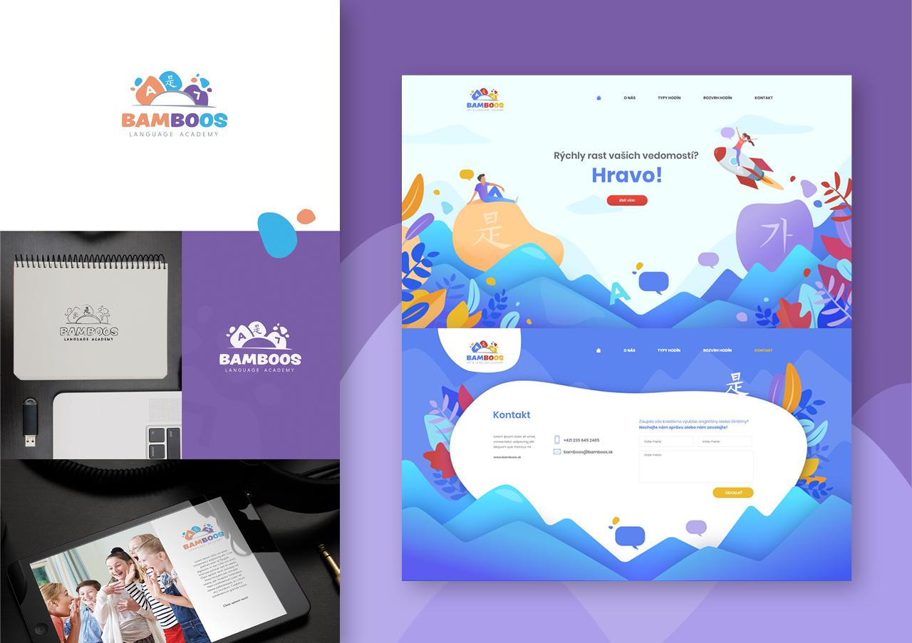 Bamboos - Logo & Web design